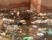 مياه الصرف الصحى بمساكن السلام