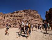 السياحة فى البتراء بالأردن - أرشيفية