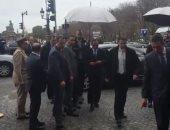 استعدادات أمام مقر الرئيس عبد الفتاح السيسى فى باريس