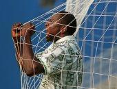 احتفال ياكينى الشهير بعد هدفه فى بلغاريا