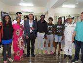 مدير امن الإسماعيلية يتفقد اماكن اقامة الفرق المشاركة فى البطولة الافريقية للهوكى