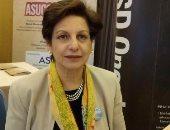الدكتورة منى فؤاد عميد كلية الألسن - أرشيفية