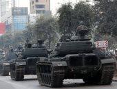 بروفة العرض العسكرى لاحتفالات استقلال لبنان