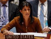 نيكى هايلى سفيرة الولايات المتحدة فى الامم المتحدة