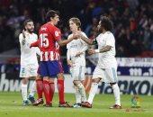 مباراة ريال مدريد واتلتيكو