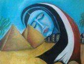 إحدى لوحات القارئ