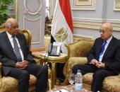 شريف إسماعيل رئيس الوزراء ورئيس مجلس النواب