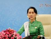زعيمة ميانمار سان سوتشى