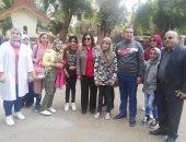زيارة منى محرز نائب وزير الزراعة لحديقة الحيوان