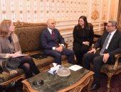 أمين عام مجلس النواب ورئيس القسم السياسى بالسفارة الأمريكية بالقاهرة