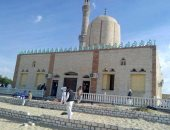 الحادث الإرهابى بمسجد الروضة-أرشيفية