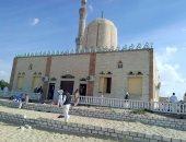 مسجد الروضة فى بئر العبد