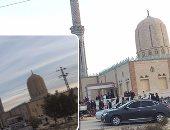 مسجد الروضة فى شمال سيناء - أرشيفية