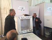 عبدالله جورج يدلى بصوته فى انتخابات الزمالك