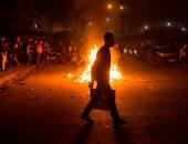 جانب من الاشتباكات فى المغرب