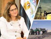 الدكتورة هالة السعيد وزيرة التخطيط والمتابعة والإصلاح الإدارى إلى جانب المشروعات الحكومية