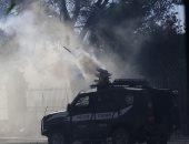 قنابل الغاز الإسرائيلى
