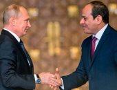 الرئيس عبد الفتاح السيسى والرئيس الروسي بوتين  - أرشيفية