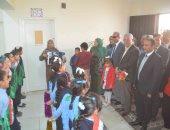 محافظ المنيا يفتتح مبني مركز خدمات المرأة والطفل بابوقرقاص