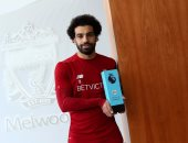 محمد صلاح أفضل لاعب في الدوري الانجليزي