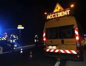 الشرطة الفرنسية فى موقع الحادث