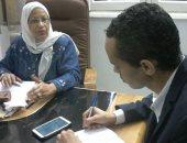 الدكتورة هدى مصطفى مقرر فرع المجلس القومى للمرأة بأسوان