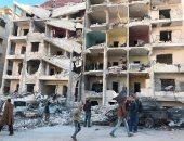قصف فى سوريا - أرشيفية