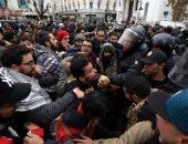 احتجاجات شعبية فى تونس