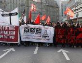 مظاهرات فى سويسرا