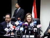 الدكتورة هاله السعيد وزيرة التخطيط والدكتور صالح الشيخ رئيس التنظيم والإدارة