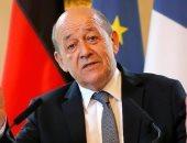 وزير الخارجية الفرنسى جون ايف لودريان