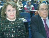 الدكتورة ايناس شلتوت خلال المؤتمر