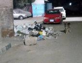 تراكم القمامة فى الشارع