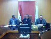 محافظ كفر الشيخ اثناء الاجتماع