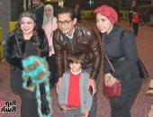 أحمد عيد مع جمهوره