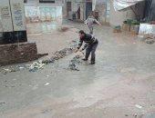 مدينة بلطيم تغرق فى مياه الصرف الصحى