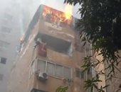 حريق شقة الدقى