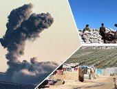 الاشتباكات بين الجيش التركى والأكراد فى عفرين