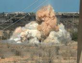 قصف الغوطة الشرقية فى سوريا