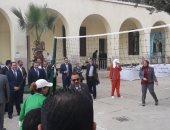 مباراة بين نواب حقوق الانسان ونزيلات سجن القناطر