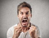 شخص غاضب