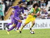 حسين الشحات فى مباراة سابقة مع العين الاماراتى