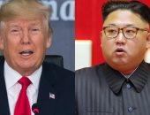 زعيم كوريا الشمالية كيم جونج أون والرئيس الأمريكى دونالد ترامب
