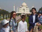 رئيس وزراء كندا يبدأ جولته فى الهند