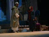 جانب من عرض المسرحية بقصر ثقافة الأقصر