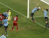 لمسة يد سواريز الشهيرة فى مونديال 2010