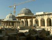 ساحة المسجد الأموي
