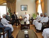 وزير التعليم العالى مع الامين العام للبحث العلمى فى سلطنة عمان