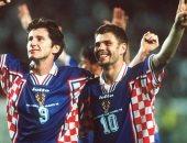 بوبان وسوكر أبرز جيل 98 لمنتخب كرواتيا