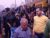 تعطل فى حركة قطار أبو قير